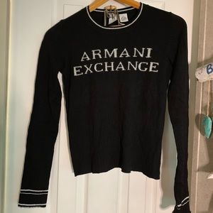 Armani Exchange Long Sleeve Sweater